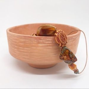 Terra-cotta bowl/ small planter